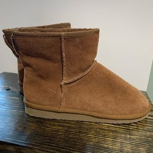 Easy Spirit Womens Ankle Brown Boots 8 Gently Used